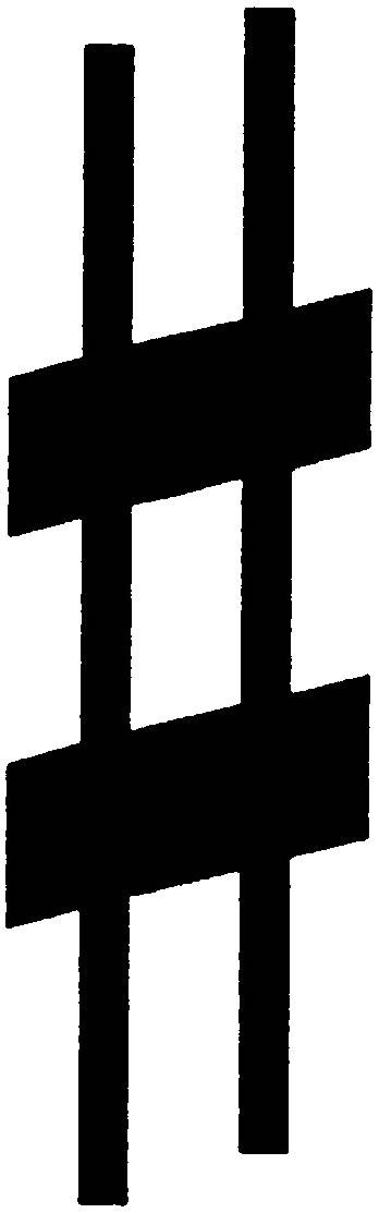 Noten-Vorzeichen Kreuz